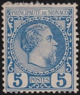 Monaco    .     Yvert   .     3      .      *         .     Neuf Avec Gomme Et Charniere    .    /   .    Mint-hinged - Monaco
