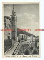 PALUZZA - DUOMO E VIA PORTAIBA F/GRANDE VIAGGIATA 1956 ANIMATA - Udine