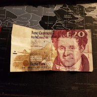 Billet 20 Pounds  Central Bank Of Ireland 1993 - Irlande