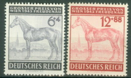 Deutsches Reich 857/58 ** Postfrisch - Ungebraucht
