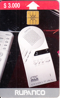 CHILE - Telephone, Rupanco, Tirage 50000, 09/96, Used - Chili