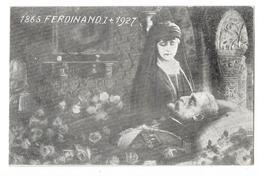 FAMILLE ROYALE DE ROUMANIE MORT DU ROI FERDINAND I 1927 Religieuse - Roumanie