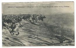 CPA SEDAN ( Ier SEPTEMBRE 1870 ), CHARGES MEMORABLES DE LA BRIGADE MARGUERITTE ( TABLEAU DELAHAYE ), ARDENNES 08 - Sedan