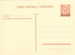 Luxemburg Ganzsache P8 * - Besetzungen 1938-45