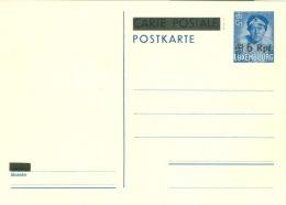 Luxemburg Ganzsache P7 * - Besetzungen 1938-45