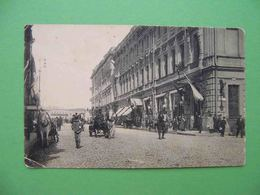 Moscow 1910x Tverskaya Street. Yeliseyev's Shop, Cabman. Russian Postcard - Russie