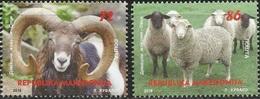 MK 2018-04 FAUNA SHEEP, MACEDONIA, 1 X 2v, MNH - Mazedonien