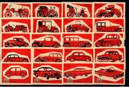 Matchbox Labels - Drava / Osijek - Cars, Yugoslavia - Boites D'allumettes - Etiquettes