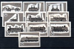 Matchbox Labels - Dolac / Travnik - Trains, Yugoslavia - Matchbox Labels