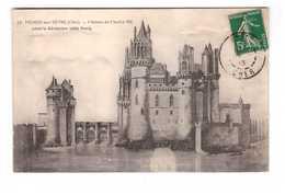18 Mehun Sur Yevre Chateau De Charles VII Avant La Révolution Coté Nord - Mehun-sur-Yèvre