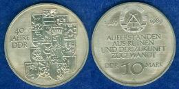 DDR 10 Mark 1989 40 Jahre DDR - [ 6] 1949-1990: DDR