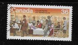 CANADA, 1987, USED,  # 1132, VOLUNTEERS WEEK : VOLUNTEERS - 1952-.... Règne D'Elizabeth II