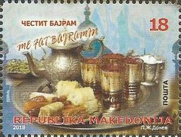 MK 2018-10 BAJRAM, MACEDONIA, 1 X 1v, MNH - Macédoine