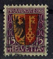 Schweiz 1918 // Mi. 144 O (028..056) - Schweiz