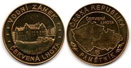 Château De Červená Lhota (South Bohemia -  Czech Republic) - Tokens & Medals