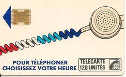 CARTE-PUBLIC-Ko59-120U-SC4Ob-4S/E-R°V° SERIGRAPHIE -Puce7-CORDON BLANC-V°4N°Impact 8833 -Bleu Roi-TBE- - France