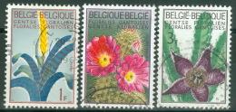 Belgien 1375/77 O Orchideen - Belgien