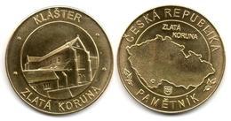 Zlatá Koruna - Cistercian Monastery (South Bohemia - Czech Republic) - Tokens & Medals