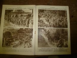 1918 LE MIROIR: Cavalerie Britannique;Les Réfugiés Reviennent;Carte Des Négociations De Paix;Bataille Des Flandres;etc - Riviste & Giornali