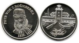 South Bohemia - Třeboň - Petr Vok Z Rožmberka - Tokens & Medals