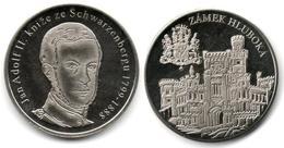 South Bohemia - Château De Hluboká - Jan Adolf II - Tokens & Medals