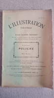 L'ILLUSTRATION THEATRALE POLICHE PAR HENRY BATAILLE N°50 JANVIER 1907 - Théâtre