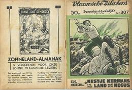 Vlaamsche Filmkens Nr 307 Nestje Kermans In Het Land Van Den Negus Eug. Marechal ( Averbode's Jeugdbibliotheek ) - Livres, BD, Revues