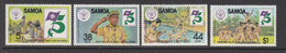 1982 Samoa Boys Scouts Scouting  Complete Set Of 4 MNH - Samoa