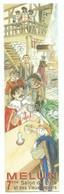 Marque Page Melun - 7ème Salon Du Livre Et Des Vieux Papiers -2004 - Illustration Carmona - Marque-Pages