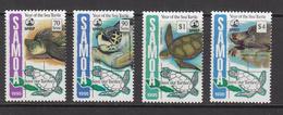 1995 Samoa Turtles Conservation   Complete Set Of 4 MNH - Samoa