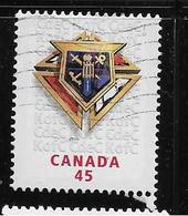 CANADA, 1997. USED # 1656,  KNIGHTS OF COLUMBUS, 100 YEARS Of KNIGHTS Of COLUMBUS IN CANADA - Blocs-feuillets