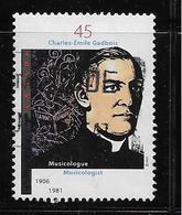 CANADA, 1997.USED  # 1637,  ABBE CHARLES-EMILE GADBOIS:  Musicologist - 1952-.... Règne D'Elizabeth II