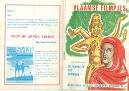 Vlaamsche Filmkens Vlaamse Filmpjes De Tempel In Het Oerwoud Nr 885  ( Averbode's Jeugdbibliotheek ) - Livres, BD, Revues