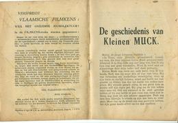 Vlaamsche Filmkens De Geschiedenis Van Kleinen Muck ( Averbode's Jeugdbibliotheek ) - Livres, BD, Revues