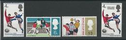 180030523  GRAN BRETAÑA  YVERT  Nº  441/3+448  **/MNH - 1952-.... (Elizabeth II)