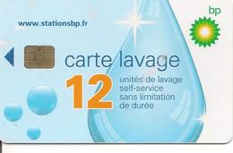 CARTE-PUCE-SA2--LAVAGE-BP -12 UNITES-TB E - Frankrijk