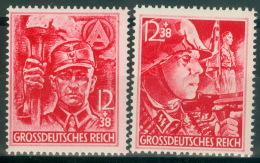 Deutsches Reich 909/10 ** Postfrisch - Ungebraucht