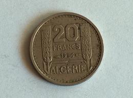 Algerie 20 Francs 1956 - Algérie