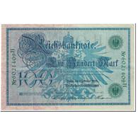 Billet, Allemagne, 100 Mark, 1908, 1908-02-07, KM:34, SUP - [ 2] 1871-1918 : Duitse Rijk