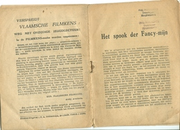 Vlaamsche Filmkens Het Spook Der Fancy-mijn ( Averbode's Jeugdbibliotheek ) - Livres, BD, Revues