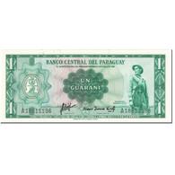 Billet, Paraguay, 1 Guarani, 1963, Undated (1963), KM:193a, SPL - Paraguay