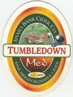 SNAILS BANK CIDER CO (HEREFORD, ENGLAND) - TUMBLEDOWN MED - PUMP CLIP FRONT - Signs