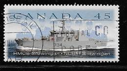 CANADA, 1998, USED, # 1763,  CANADIAN NAVAL RESERVE, HMCS SHAWINIGAN, 20 STAMPS. - 1952-.... Règne D'Elizabeth II