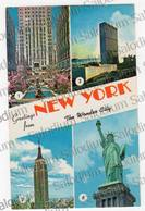 New York City  - Storia Postale - Air Mail - Postal History