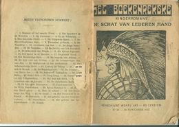 Het Boekenrekske Kinderromans De Schat Van Lederen Hand 1937 (indiaan) - Books, Magazines, Comics