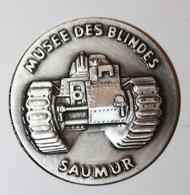 """Jeton Médaille """"Musée Des Blindés - Saumur"""" - Professionals / Firms"""