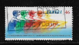 CANADA, 1999. Used #1805, World Rowing Championships: Five Rowers, # 1805, - 1952-.... Règne D'Elizabeth II