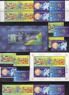 50 Years CEPT Salomon Block 86,Bosnia 419/2A/B,ZD+2VB+Block 27 ** 95€ Stamps B 1043 E 1808 S/s Blocs Sheets Bf 2005 - Joint Issues