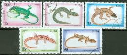 Kuba 3792/96 O Echsen - Kuba