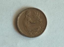 Allemagne 50 REICHS Pfennig 1969 G - [ 6] 1949-1990 : GDR - German Dem. Rep.
